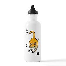 Cat Sports Water Bottle