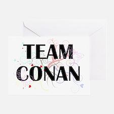 team conan Greeting Card