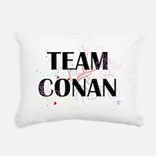 team conan Rectangular Canvas Pillow