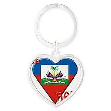 We-love-Haiti Heart Keychain