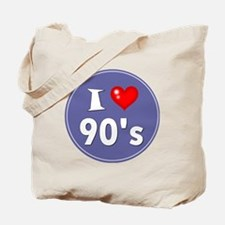 I Love the 90's Tote Bag
