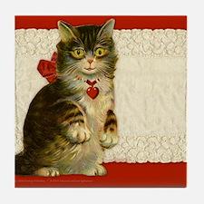 9x7.5_m.pad_cat Tile Coaster