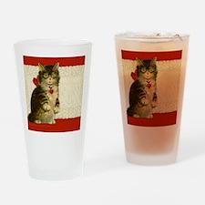 9x7.5_m.pad_cat Drinking Glass
