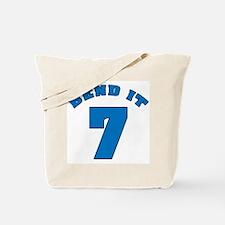 Bend It 7 Soccer Tote Bag
