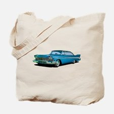 1957 Plymouth Belvedere Sport Coupe Tote Bag
