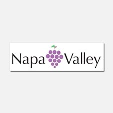 Napa Valley Car Magnet 10 x 3