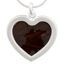 metaleffect border reiver sq Silver Heart Necklace