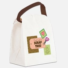 2-ablemujer1 Canvas Lunch Bag