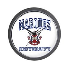 MARQUEZ University Wall Clock