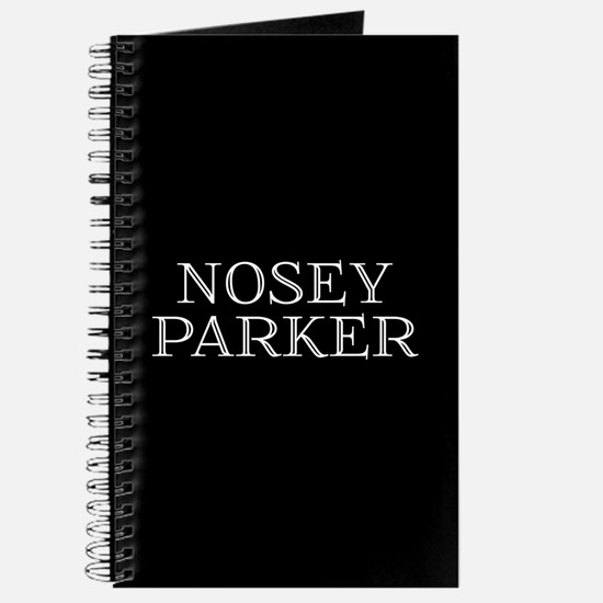 Nosey Parker Journal