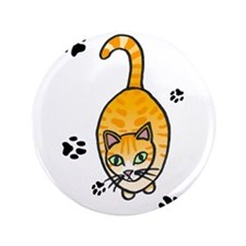 "Cat 3.5"" Button (100 pack)"