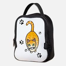 Cat Neoprene Lunch Bag