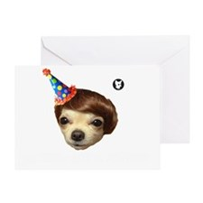 party at mexican Greeting Card