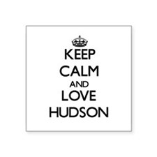 Keep Calm and Love Hudson Sticker