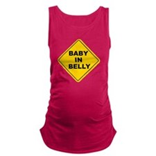 Baby in Belly Maternity Tank Top