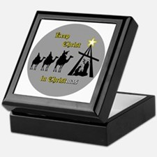 Keep Christ in Christ-mas Keepsake Box