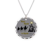 Keep Christ in Christ-mas Necklace