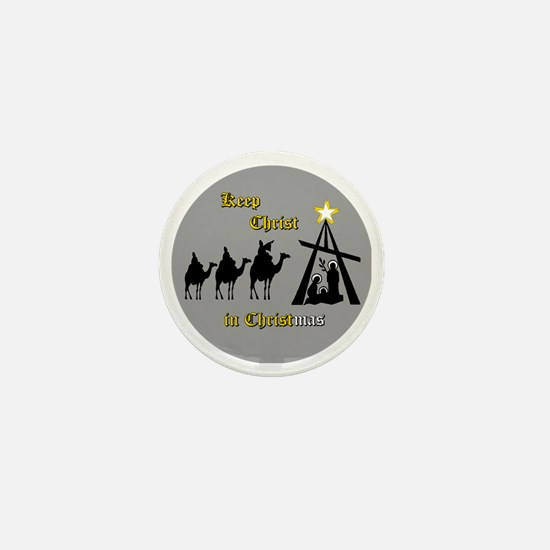 Keep Christ in Christ-mas Mini Button