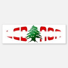 lebanon-arz Bumper Bumper Sticker