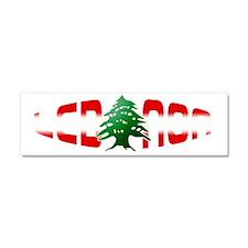 lebanon-arz Car Magnet 10 x 3