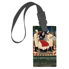 bottlepoetry Luggage Tag