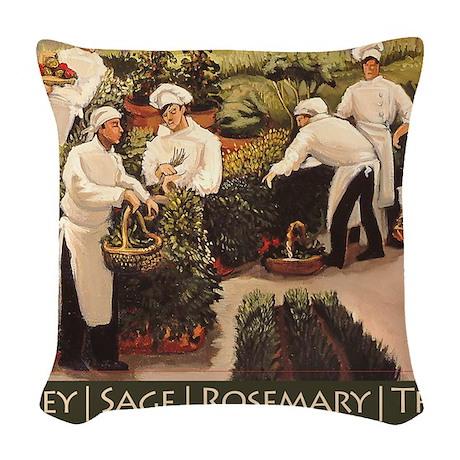 PSRT Woven Throw Pillow
