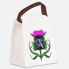 Scottish runner and thistle the brave Canvas Lunch