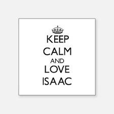 Keep Calm and Love Isaac Sticker