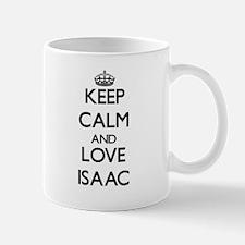 Keep Calm and Love Isaac Mugs