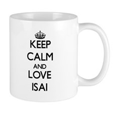 Keep Calm and Love Isai Mugs