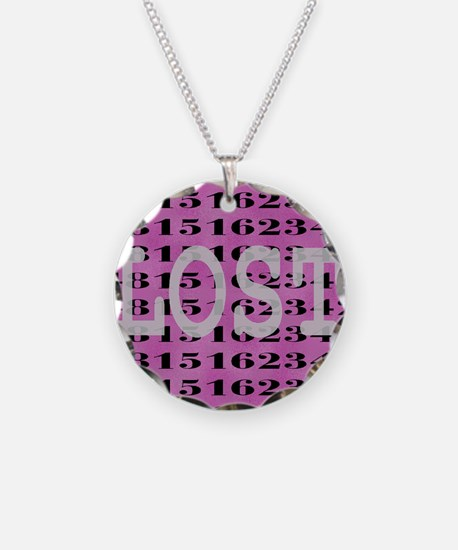 2-lost03 Necklace Circle Charm
