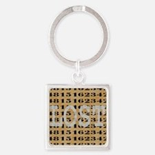 2-lost04 Square Keychain