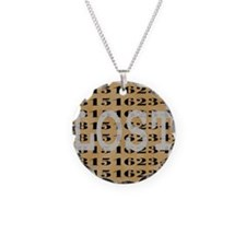2-lost04 Necklace Circle Charm