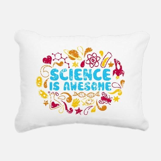 3-science Rectangular Canvas Pillow