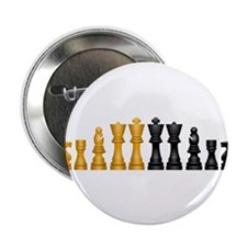 "Chess Pieces 2.25"" Button (10 pack)"