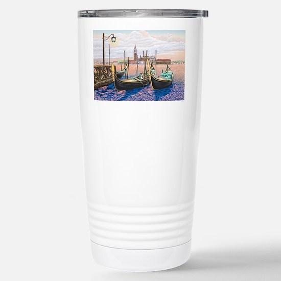 Twilight in Venice ap Stainless Steel Travel Mug