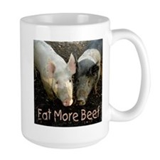 Eat More Beef (Large) Mugs