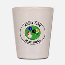 pool1 Shot Glass