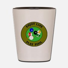 pool3 Shot Glass