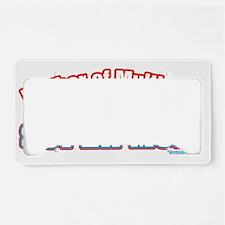 MoMakasupermom License Plate Holder
