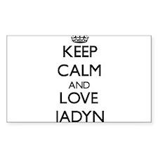 Keep Calm and Love Jadyn Decal