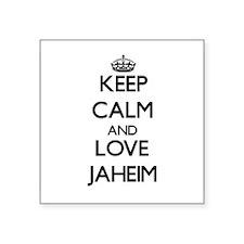 Keep Calm and Love Jaheim Sticker