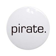 Pirate Ornament (Round)