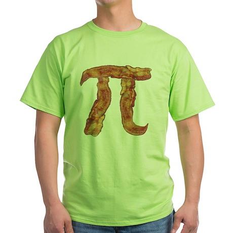 baconpi2 Green T-Shirt