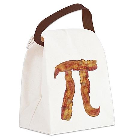 baconpi2 Canvas Lunch Bag