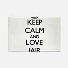 Keep Calm and Love Jair Magnets