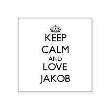 Keep Calm and Love Jakob Sticker