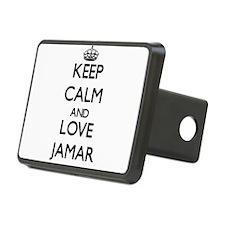 Keep Calm and Love Jamar Hitch Cover