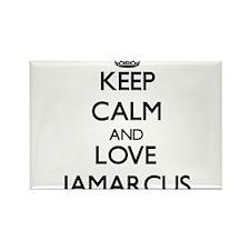 Keep Calm and Love Jamarcus Magnets
