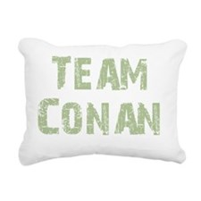 teamconangreen Rectangular Canvas Pillow